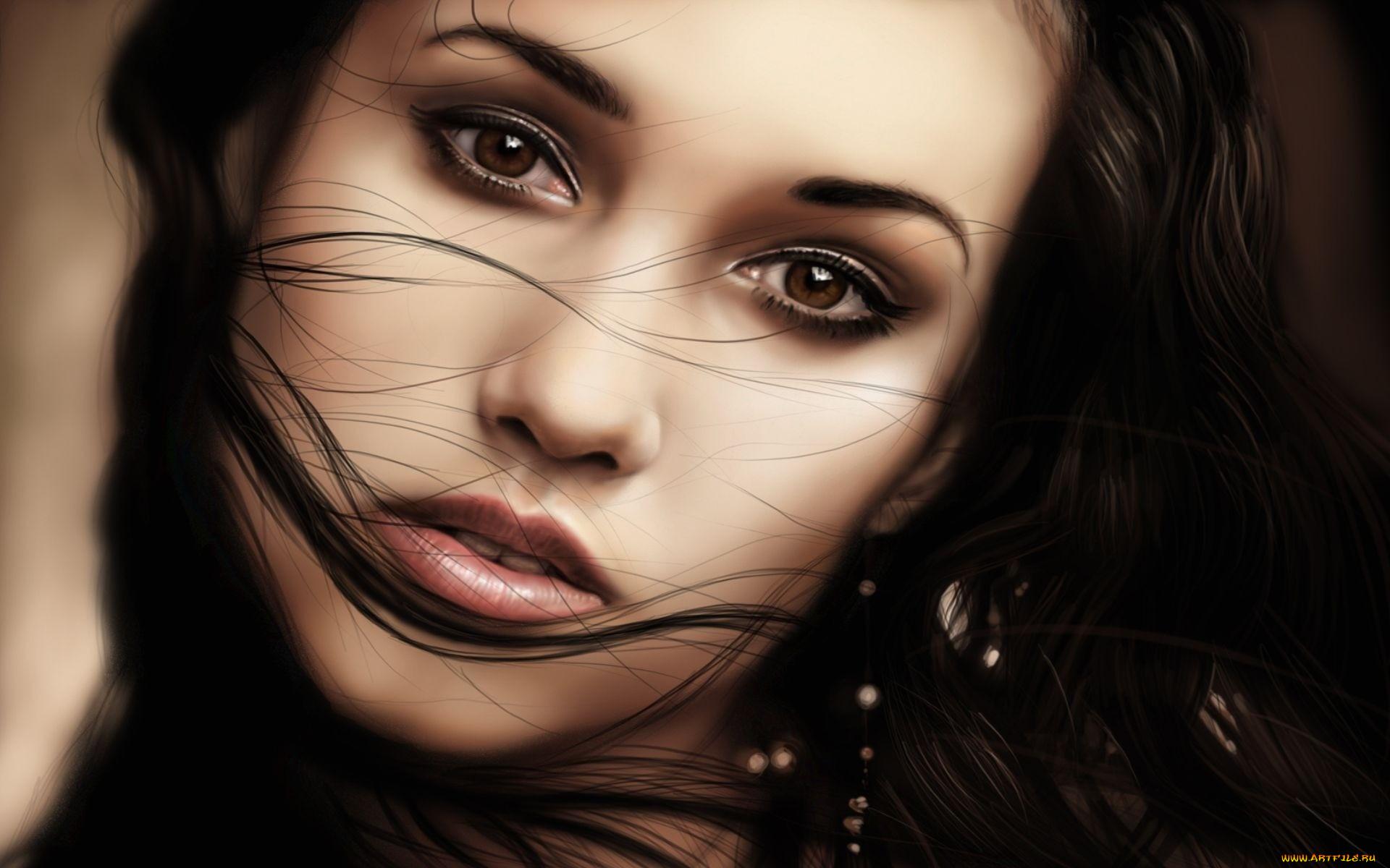 Грустные глаза девушки картинки